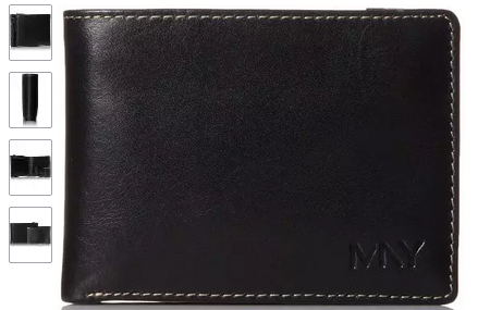 Marc New York Men's Passcase 凑单男士真皮钱包